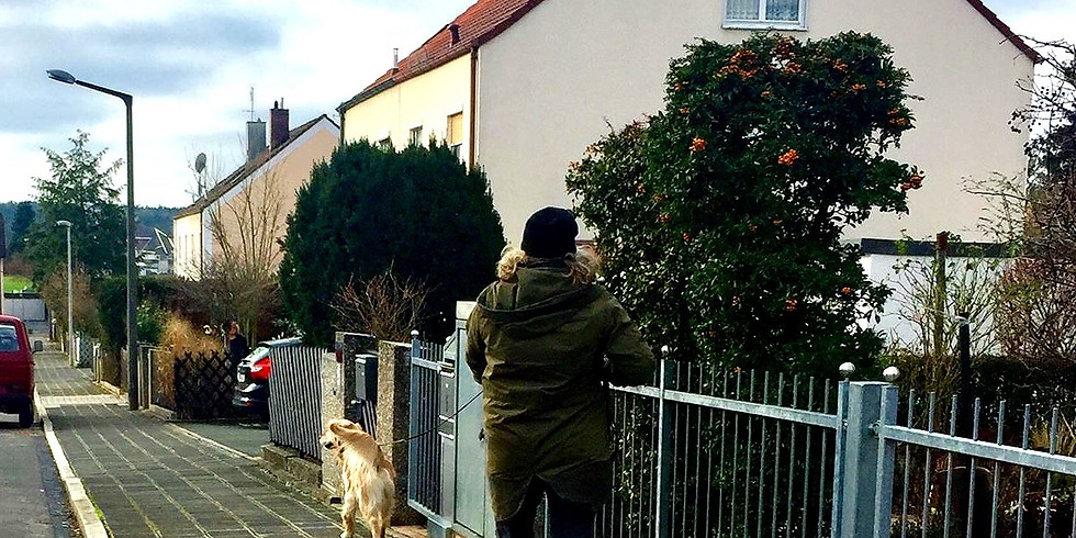 Mantrailing in Zirndorf