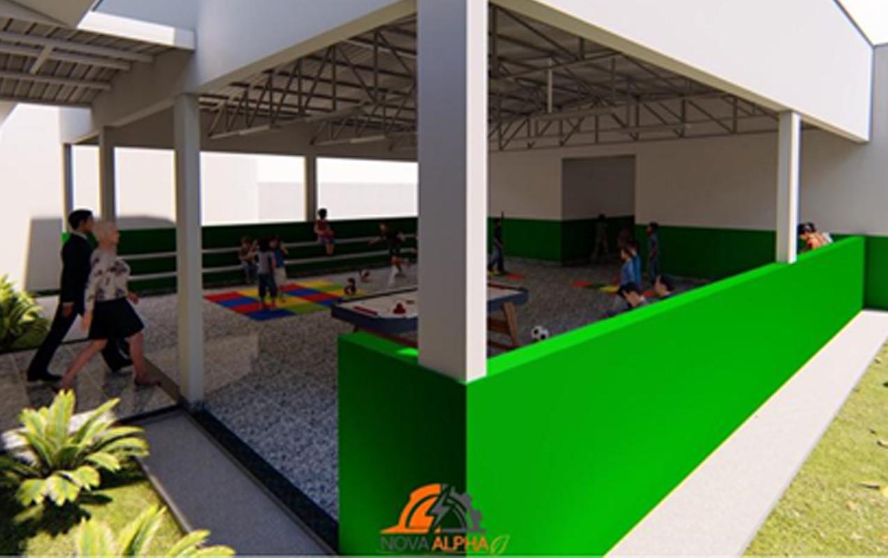 Projeto completo para a criação do laboratório de ciências do Colégio Municipal Divino Bernardo Gomes, realizado em 2018. Contem Projetos: arquitetônico, hidráulico, sanitário, memoriais e orçamentos, aprovação no corpo de bombeiros.