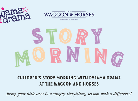 Story sessions with a twist!