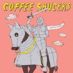 COFFEE SAUCERS - Homemade