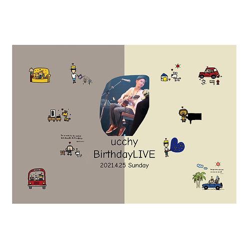 【DVD 】ucchy  Birthday LIVE 2021
