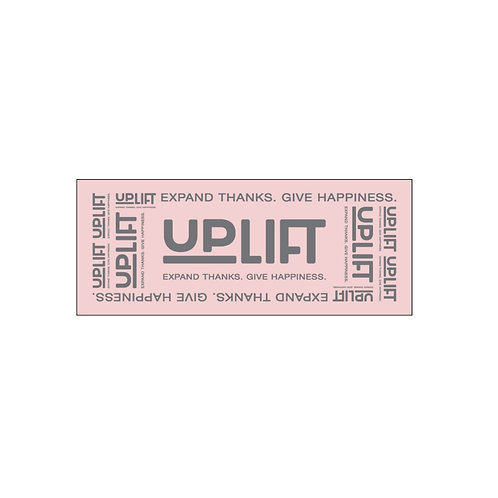 UP LIFT 公式タオル(ピンク)