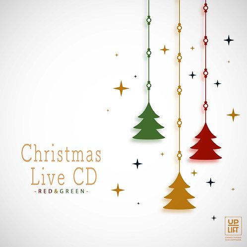 Christmas Live CD -RED&GREEN-