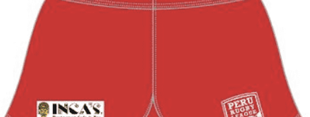 Peru Rugby League Playing Shorts