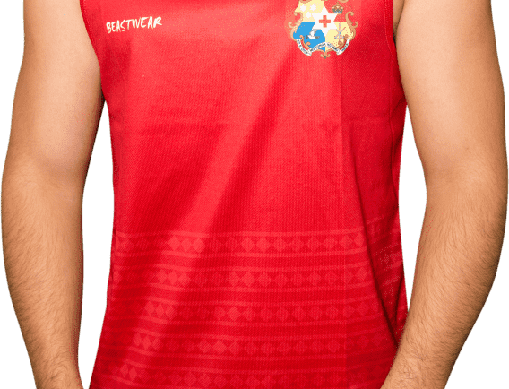 Tonga - Rugby League Singlet