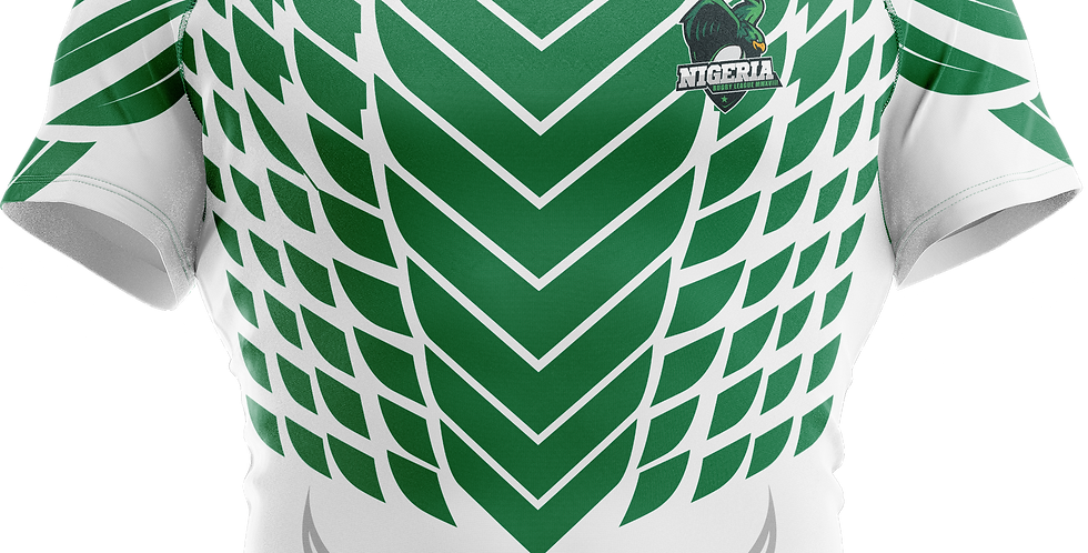 Jersey Nigeria Rugby League (no name or number)