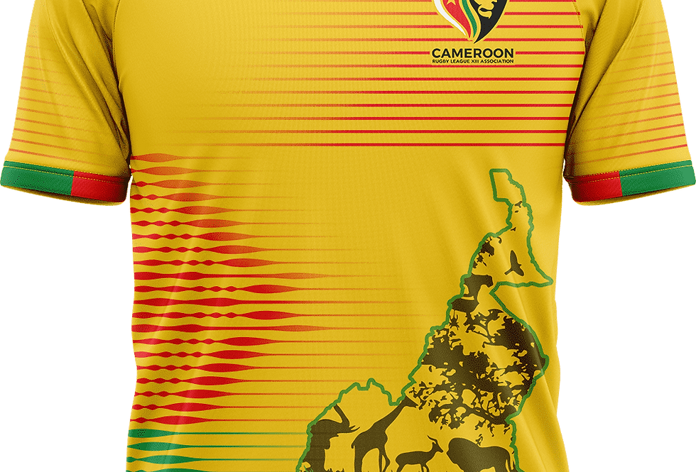 Cameroon Rugby League Training Shirt