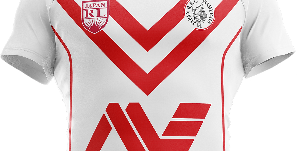 Jersey (white) Japan Rugby League