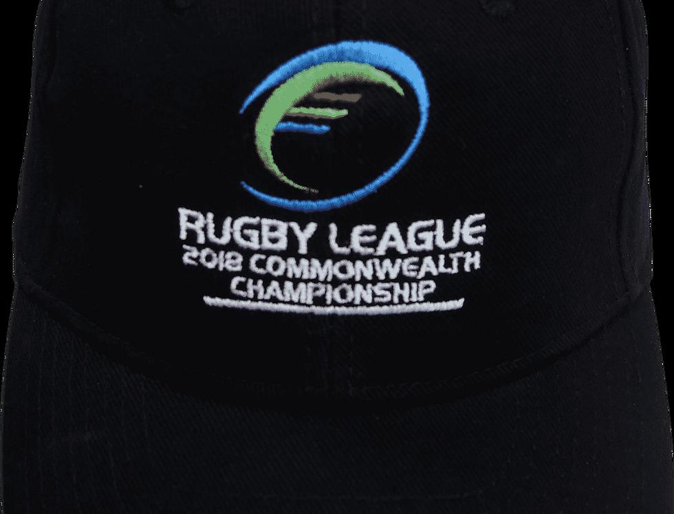 Cap - Commonwealth Champions League '18 Black