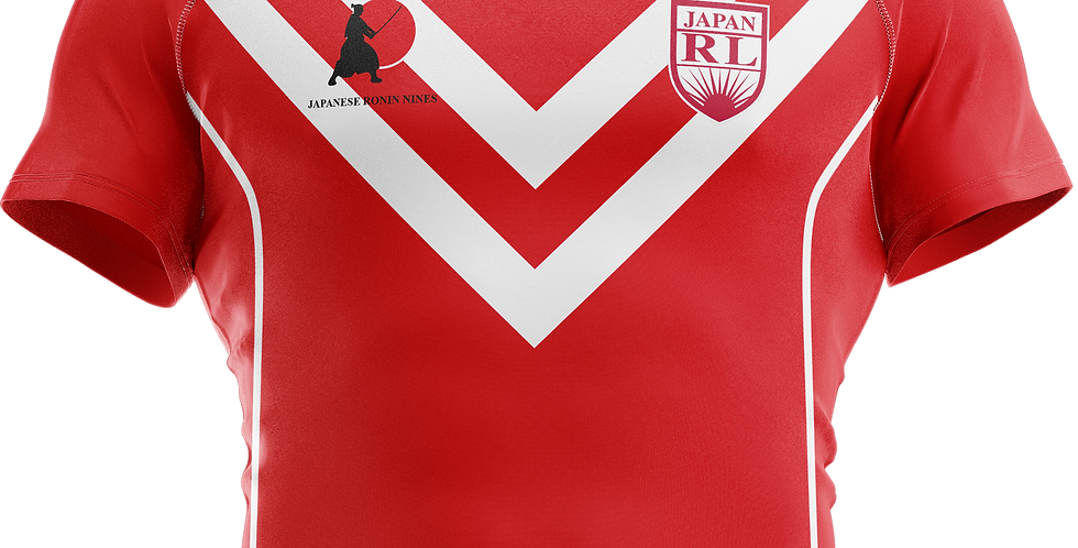 Jersey (red) Japan Rugby League