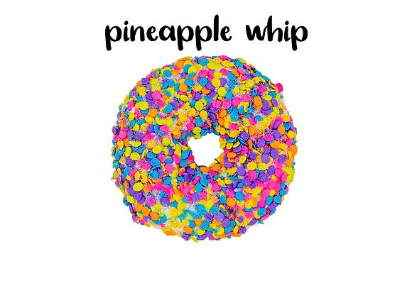 Pineapple whip bath bomb