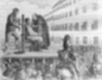 The garrotte tortur device, History