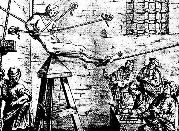 The Judas Cradle. More torture devices at shadezofblack.com