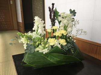 禅スタイルのお花