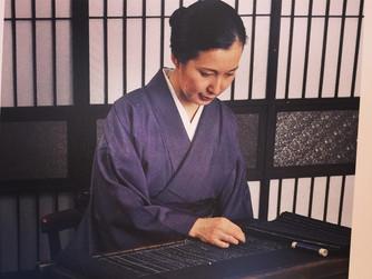 三原佳子〜露草 and 菅岡久美子 展示会。作家在廊。