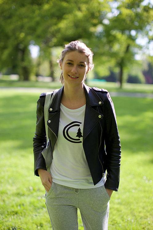 T-shirt modal CoeurCabane (Femme)