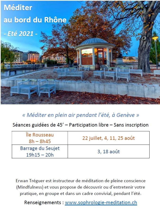 Méditer à Genève cet été