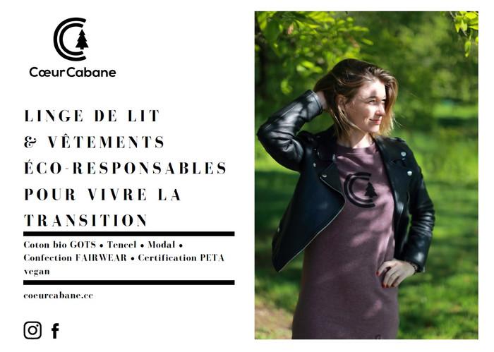 CoeurCabane : de beaux vêtements ici et maintenant