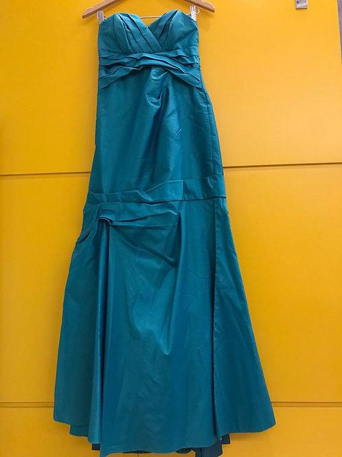 Vestido Longo Verde Tempo4