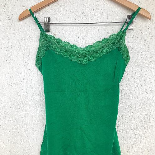 Blusa Verde Renda