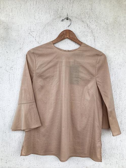 Blusa Nude Zara