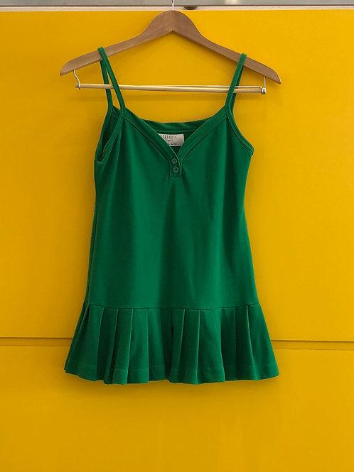 Blusa Verde Bandeira Pregas Ecletic