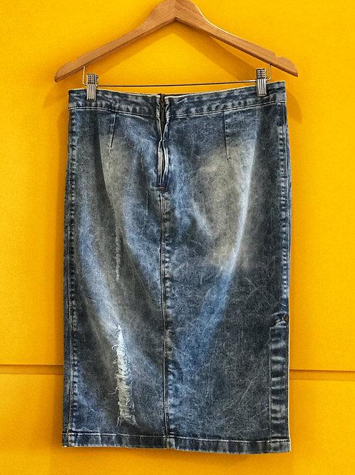 Saia Jeans Estonada