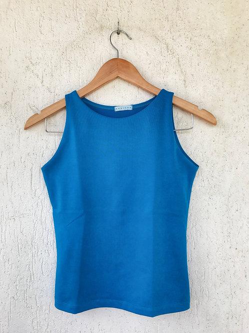 Blusa Azul Bic