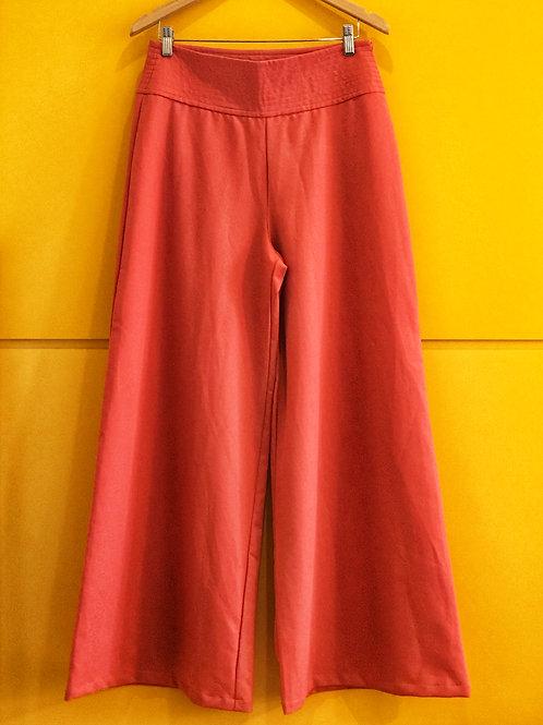 Calça Pantalona Goiaba