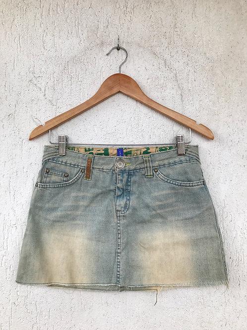 Saia Jeans Cantão