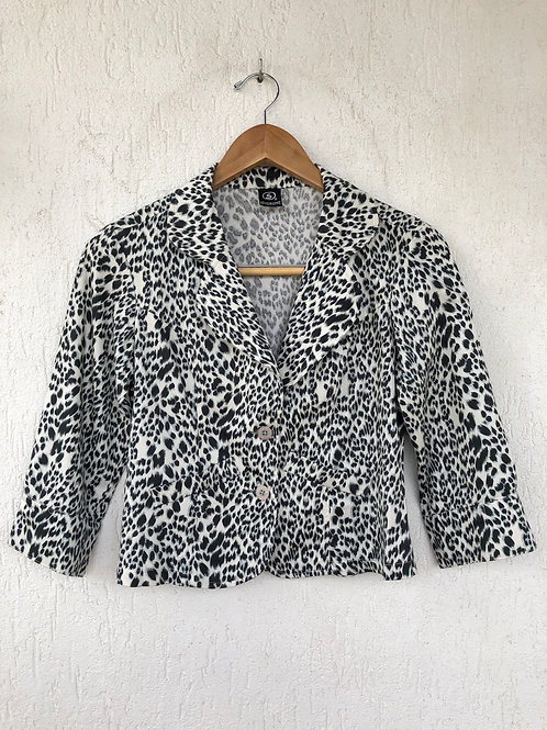 Blazer Animal Print Onça