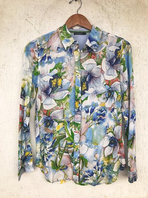 Camisa Estampa Aquarela