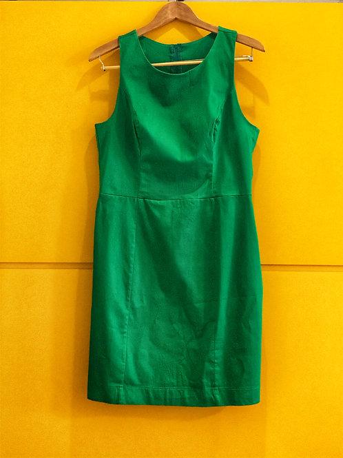 Vestido Social Verde Bandeira