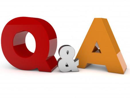 Q&A starttijden