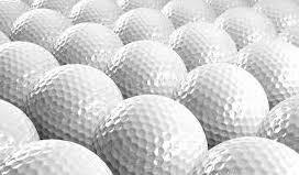 Nieuwe driving range ballen