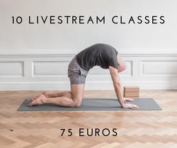 10 Livestream classes
