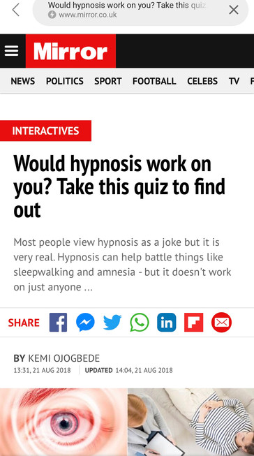 Would Hypnosis Work On You?
