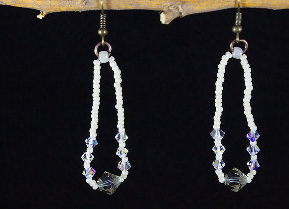 Magic Crystal Earrings