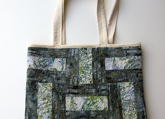 Earthy Green/Gray with Subdued Batik