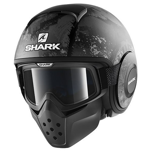 Shark DRAK Openface Helmets Evok Mat KAA