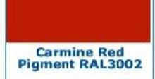 PIGMENTO ROSSO CARMINIO IN PASTA RED CARMINE  2 oz. - 60 grammi