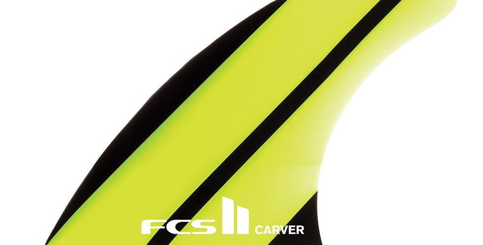 FCS II CARVER NEO GLASS TRI-QUAD FINS