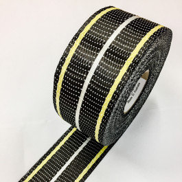 CARBON / KEVLAR / GLASS UD TAPE 200g/m2 65mm