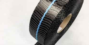 CARBON UD TAPE TWIN BAND BLUE 200g/m2 45mm