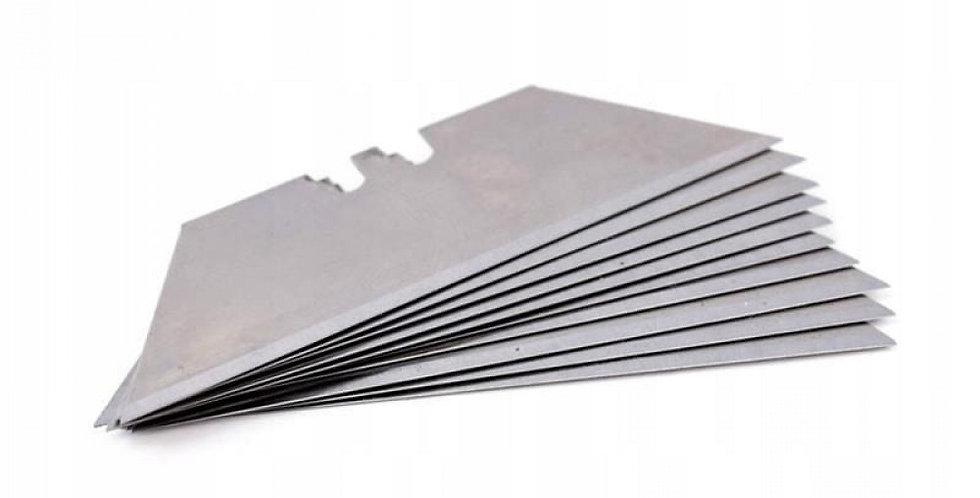 Lame di coltello trapezoidali 10 pezzi x Taglierino