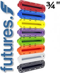 """Scassa Originale Futures per Laterale 3/4"""" ILT Fin Box"""