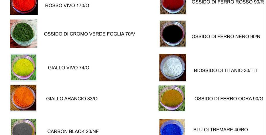 COLORANTE ORGANICO ROSSO VIVO 170/O