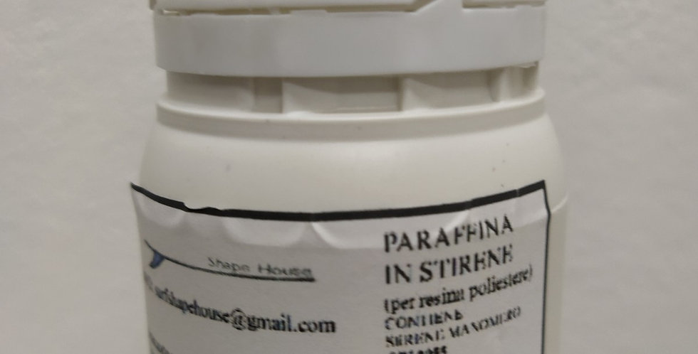 Paraffina in stirene per resina poliestere