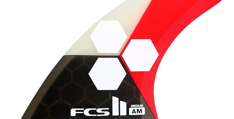 FCS II AL MERRICK TRI-QUAD FINS