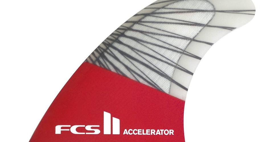 FCS II ACCELERATOR PC CARBON TRI FINS
